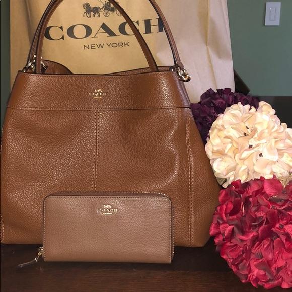 Coach Handbags - ✨SALE Coach Bundle Deal Lexy Shoulder Bag Bundle